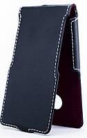 Чехол Status Flip для Microsoft Lumia 535 Black Matte