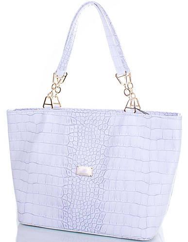 Женская серая сумка из экокожи EUROPE MOB (ЮЭРОП МОБ) EM0064-2