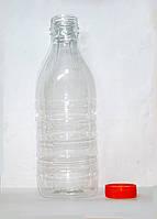 Бутылка пластиковая 1 литр , 1 шт / 100 шт / 1000 шт