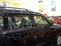 Дефлектори вікон (вітровики) Тойота LAND CRUISER 200/LX570, 07-, 4дв, темний(PZ45170533ZA)