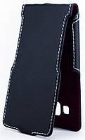 Чехол Status Flip для Samsung Galaxy A3 A300 Black Matte
