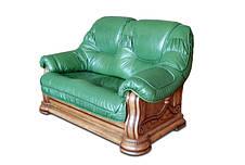 """Класичний шкіряний диван """"GRYZLI"""" Гоп (190см), фото 2"""