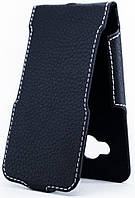 Чехол Status Flip для Samsung Galaxy J1 Ace J110 Black Matte