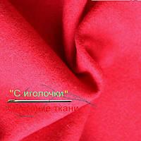 Ткань сукно красное