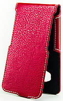 Чехол Status Flip для Samsung Galaxy J1 2016 J120 Red