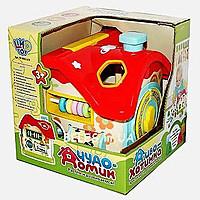 """Розвиваюча іграшка """"Чудо - Хатка"""" сортер M 0001 U/R"""