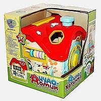 """Розвиваюча іграшка """"Чудо - Хатка"""" сортер M 0001 U/R, фото 2"""