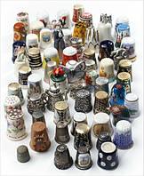 Наперстки декоративные коллекционные