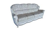 """Кожаный четырехместный раскладной диван """"Джозеф"""" (240см), фото 3"""