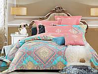 Семейный  комплект постельного белья Рассвет