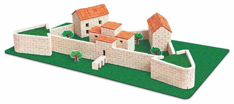 Конструктор з керамічних цеглинок ГРАвік Замок Дубно (07006)