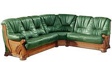 """Шкіряний кутовий диван """"Віконт 5030"""" (1 + уг + 2н), фото 3"""