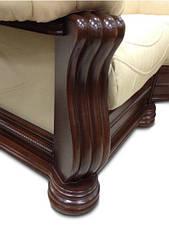 """Шкіряний кутовий диван """"Монарх"""" (1 + уг + 2н), фото 2"""