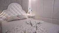 Льняной пододеяльник 145х210 на завязках серый