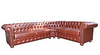 """Современный угловой диван """"Сан-Ремо"""" Алькор Французская раскладушка, ткань, 180-280"""