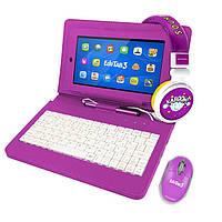 Планшет  для детей Overmax  Edutab 3 Multiset Purple + клавиатура
