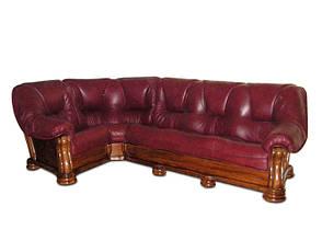 Кожаный угловой диван SANREMO Hup, фото 3