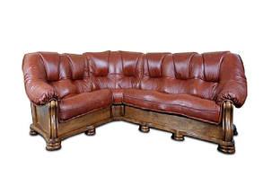 Кожаный угловой диван SANREMO Hup, фото 2