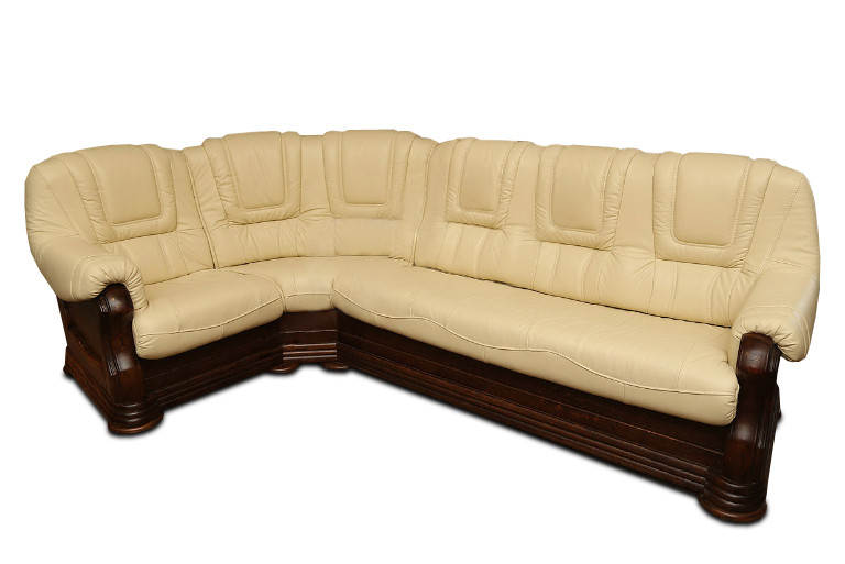 Кутовий диван в шкірі ANETA I, II (280см-240см)