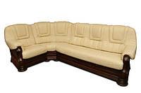 Угловой диван в коже ANETA I, II (280см-240см)
