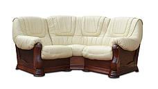Кутовий диван в шкірі ANETA I, II (280см-240см), фото 3