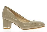Бежевые весенние туфли  размер 36,37,39,40