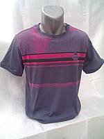 Мужская футболка с модным принтом от венгерского производителя