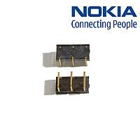 Коннектор батареи для Nokia 6111, оригинал