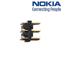 Коннектор батареи для Nokia N76, оригинал