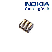 Коннектор батареи для Nokia 6101/6131/6230, оригинал