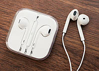Наушники Apple EarPods (original)с пультом управления и микрофоном