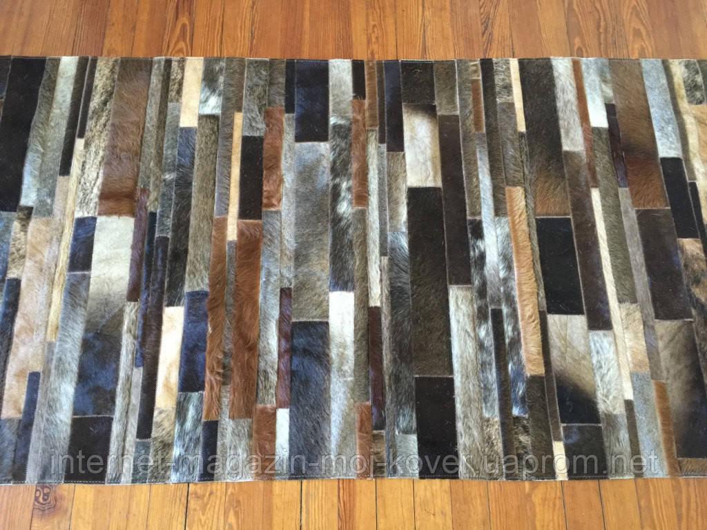 Оригинальные натуральные ковры из шкур быка