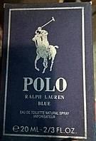 Мини парфюм в планшете 20 ml мужской Polo Blue Ralph Lauren