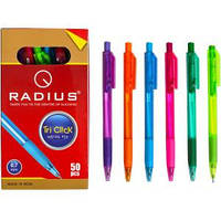 Ручка «Tri Click» RADIUS тонированная,микс