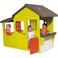 Дом- коттедж с кухней и звонком Smoby 310300