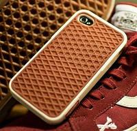 Чехол подошва VANS для iPhone 5s/5, белый