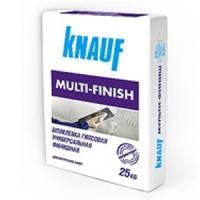 Шпаклевка гипсовая Мульти-Финиш ТМ Кнауф (Knauf), 25 кг