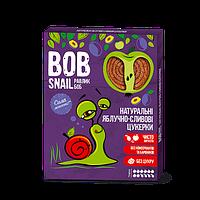 Натуральні яблучно-сливові цукерки Snail Bob Равлик Боб, 120 г