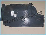 Подкрылок передний-задняя левая часть RENAULT KANGOO II 08->  RezalPlast Польша 6601-01-6011807P