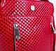 Красивая женская кожаная мини-сумка KARYA (КАРИЯ) SHI0727-1KAP (красный), фото 6