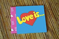 "Шоколадный набор на 9 плиточек ""Love is"""