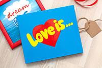 "Набор шоколадный XL ""Love is"" 20 шт"