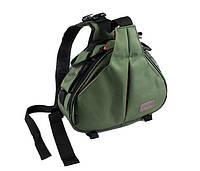 Сумка-рюкзак Caden K1 для зеркальных фотоаппаратов Nikon, Canon, Sony, Pentax - Green