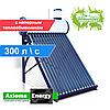 Термосифонный солнечный коллектор с напорным теплообменником AXIOMA energy AX-30T - 300 литров