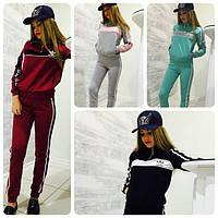 Костюм Adidas спортивный женский олимпийка и брюки разные цвета SKm113