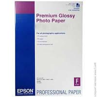 Бумага Epson 255 г/м.кв., A2, 25 л, фото, глянцевая (C13S042091)