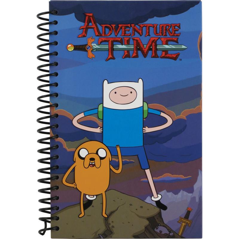 Блокнот Adventure Time, 80 листов, А5