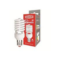 Лампа энергосберегающая Maxus (Максус) 32Вт Е27 4100К