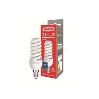 Лампа энергосберегающая Maxus (Максус) 13Вт Е14 4100К