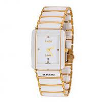 Rado Jubile Golden White стильные кварцевые наручные часы